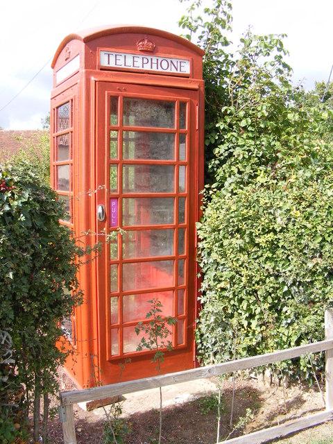 Monk Soham Telephone Box