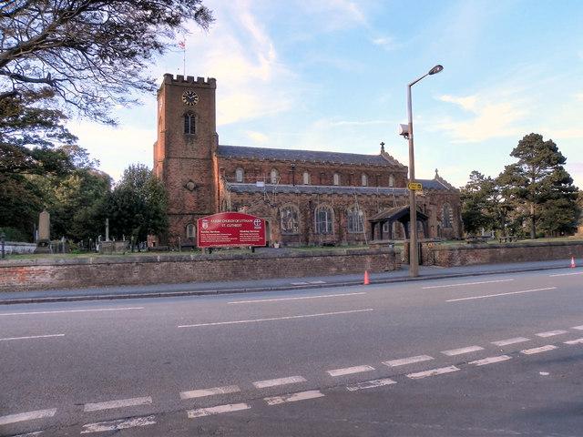The Parish Church of Lytham, St Cuthbert