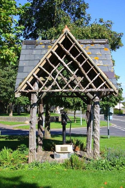 The village pump in Shrivenham