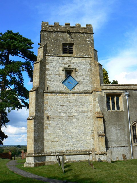 Tower, St Mary's Church, Childrey