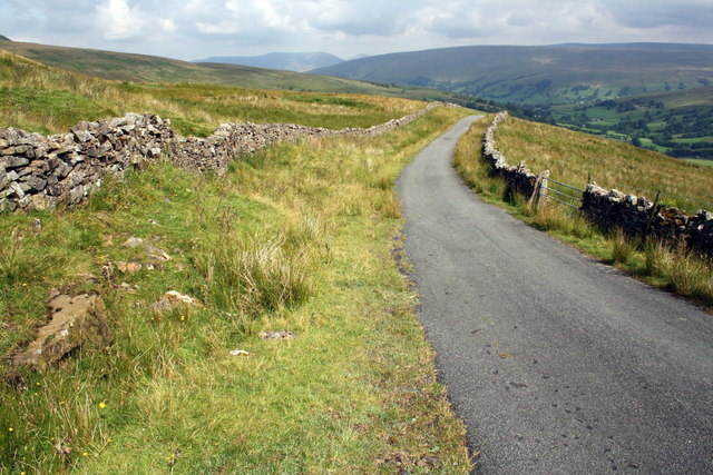 View north at White Shaw