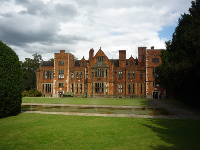Heslington Hall from the quiet place