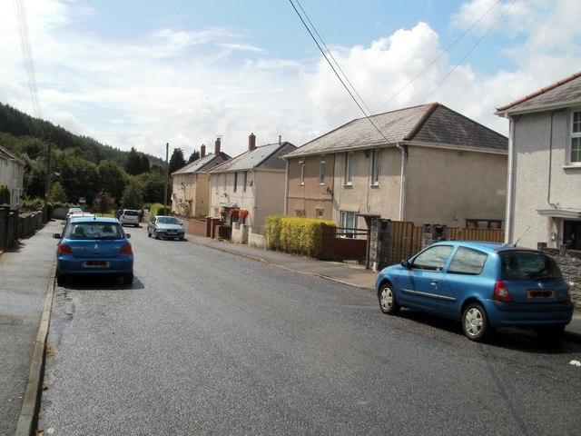 Heol Nedd houses, Cwmgwrach