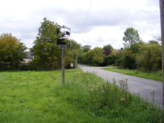 Southolt Village sign