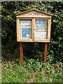 TM1968 : Southolt Village Notice Board by Geographer