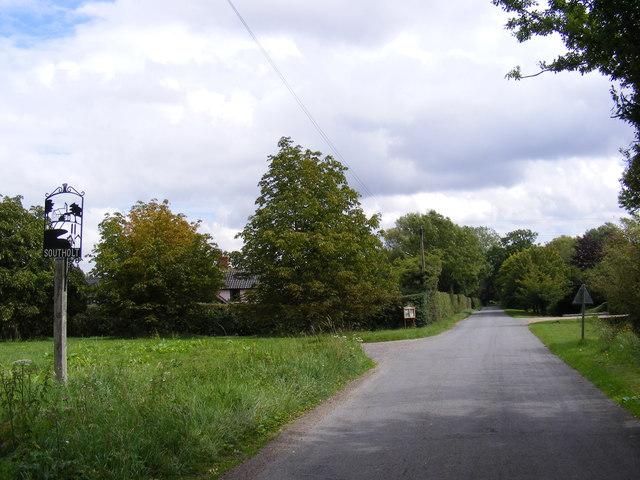 Southolt Main Street & Village sign