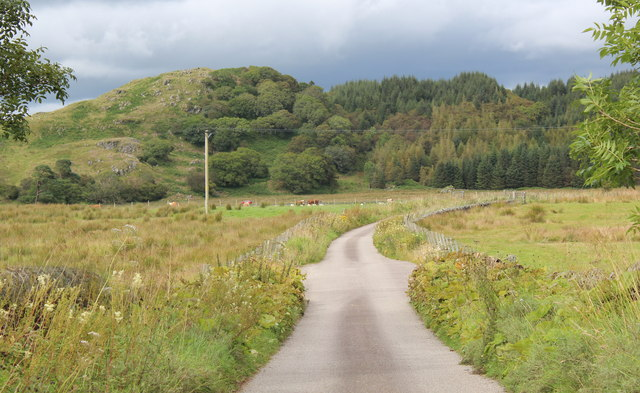 The road from Dunadd