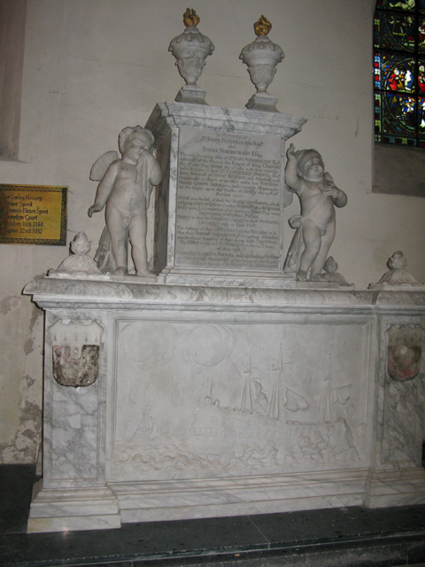 Monument to John and James Narbrough