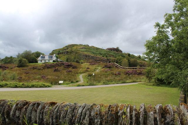 Dunadd hill fort car park