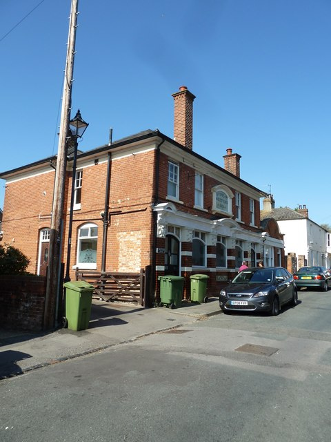 Looking towards the West End Inn