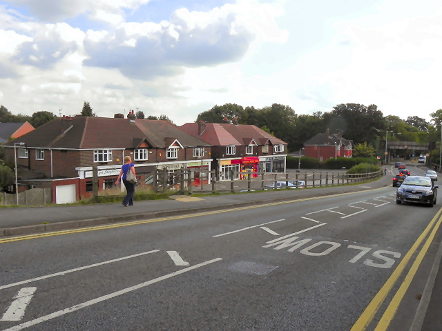 Chester Road and The Boulevard