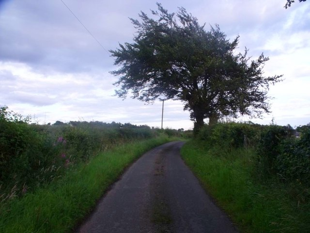 Wester Jaw, road to Dyke