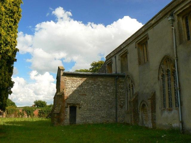 North transept, St Mary's Church, Childrey