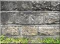 SJ8661 : Cut mark on the bridge by Jonathan Kington