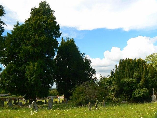 North churchyard, St Mary's Church, Childrey