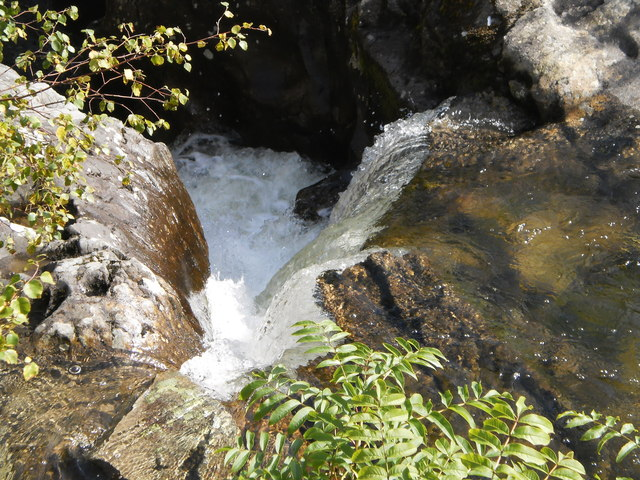 Waterfall on Scandale Beck