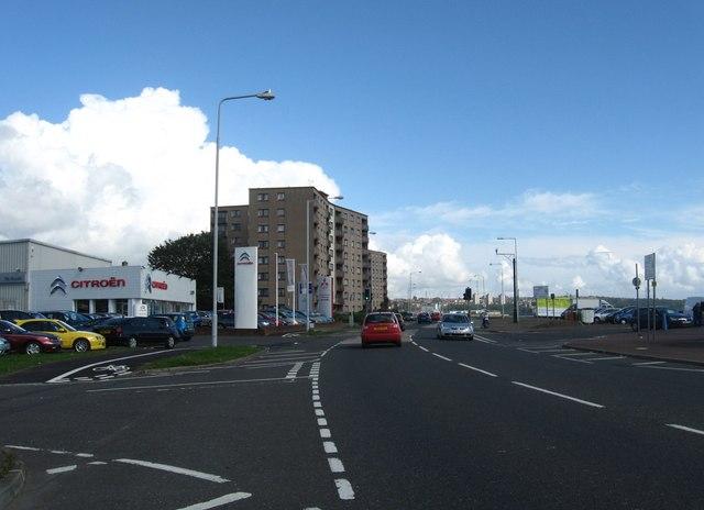 High rise flats at Linktown, Kirkcaldy
