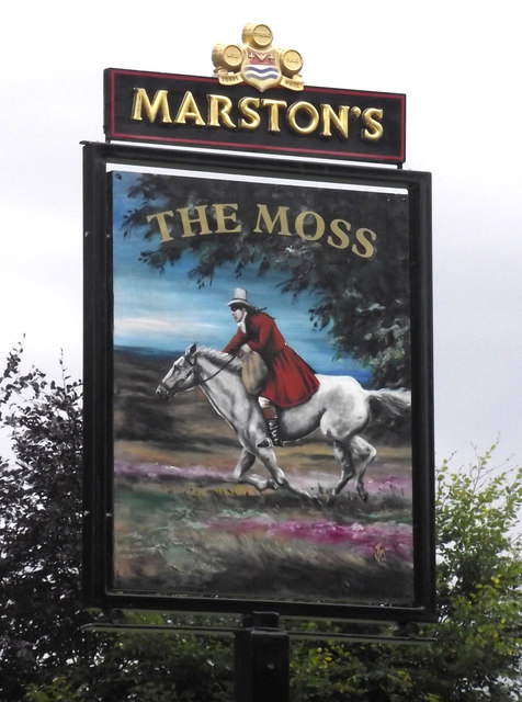 Sign for The Moss