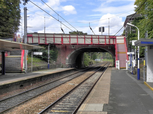 Bridge at Davenport Station