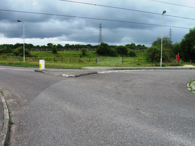 Roundabout , Admiralty Way, Marchwood