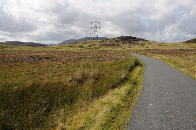 Road near Banc y Arian