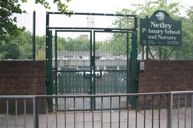 Netley Primary School and Nursery through its William Road entrance
