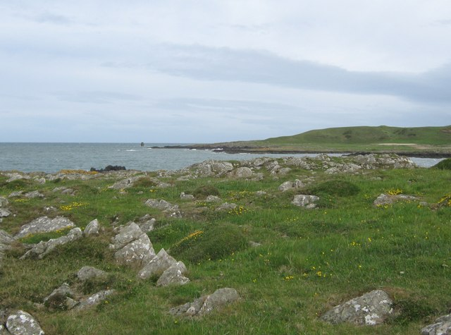 Looking across Dally Bay with Craig Laggan in the distance