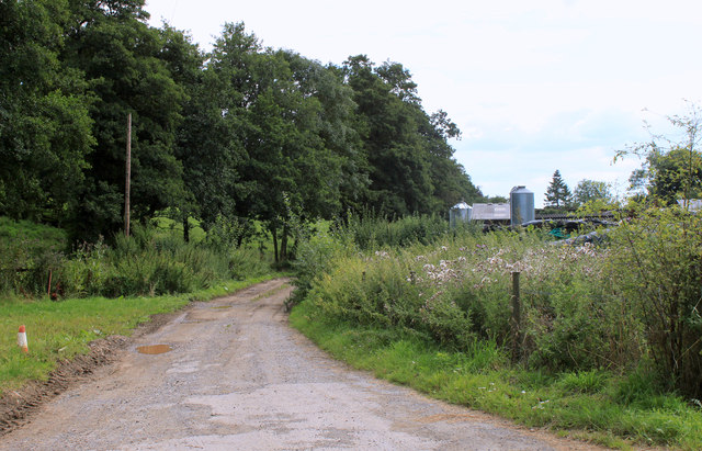 2011 : South on Chesterblade Road