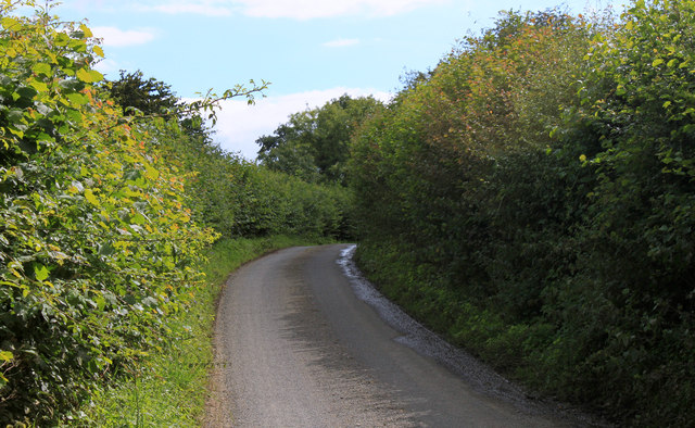 2011 : North on Chesterblade Road
