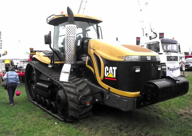 Big yellow tractor