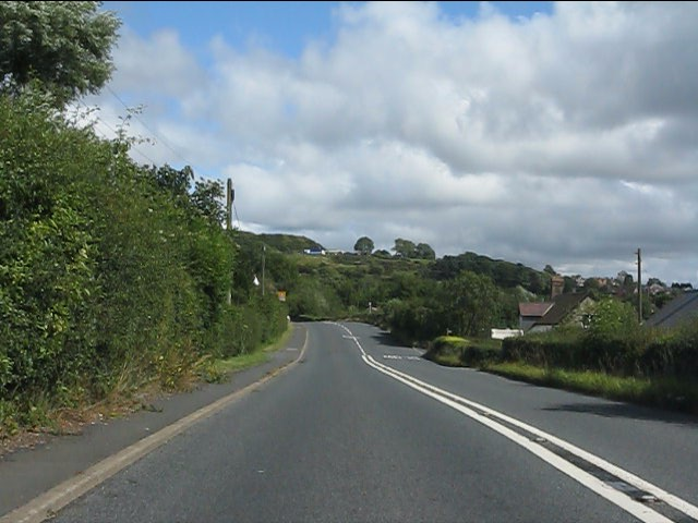 A4117  south of Dhustone