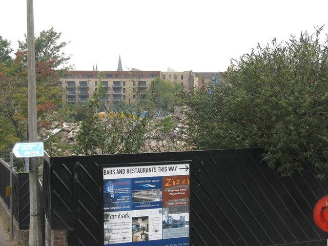 Scottish & Newcastle Bottling Plant demolition - 8