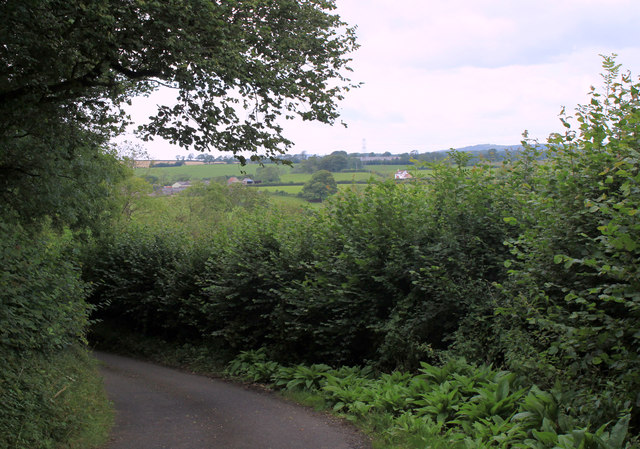 2011 : Heading north on Small Down Lane