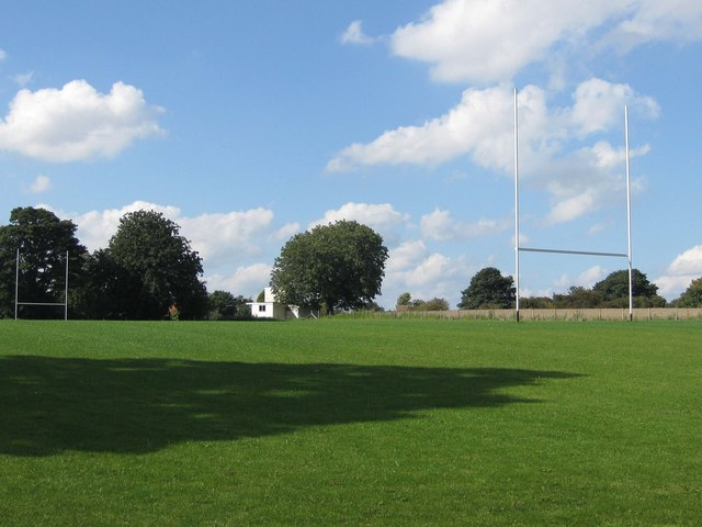 Rugby pitch, Old Malton