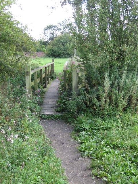 Footbridge over The Cut