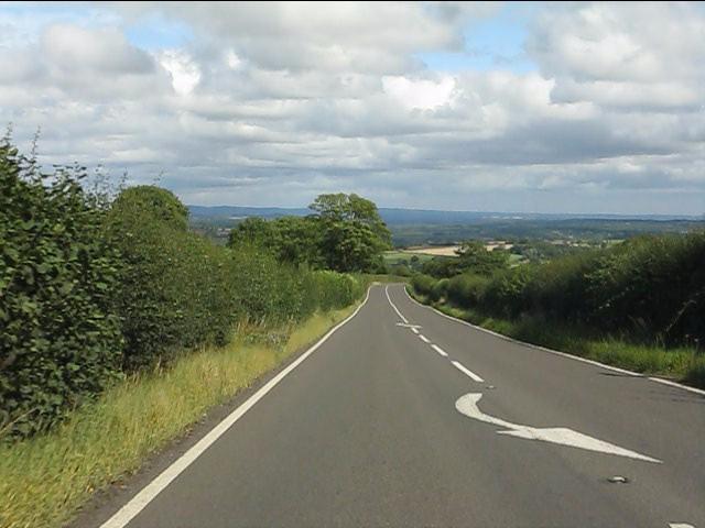 A4117 east of Doddington