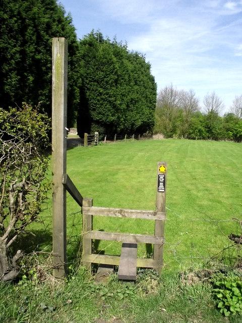 Footpath off Peel Lane