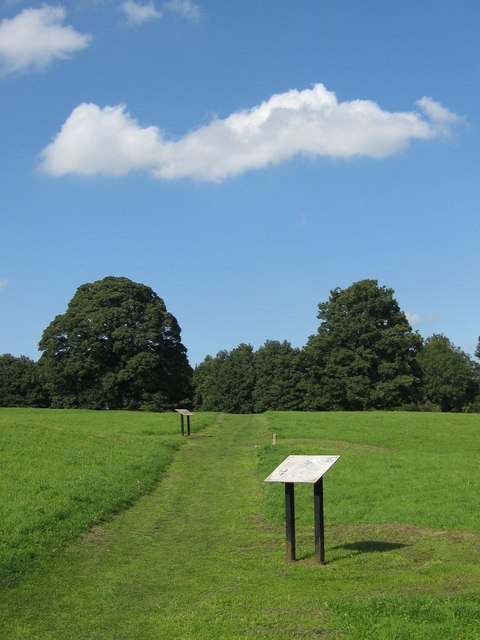 Footpath over Orchard Field
