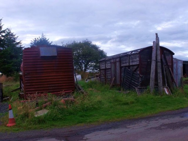 Shortrig Farm, British Rail surplus