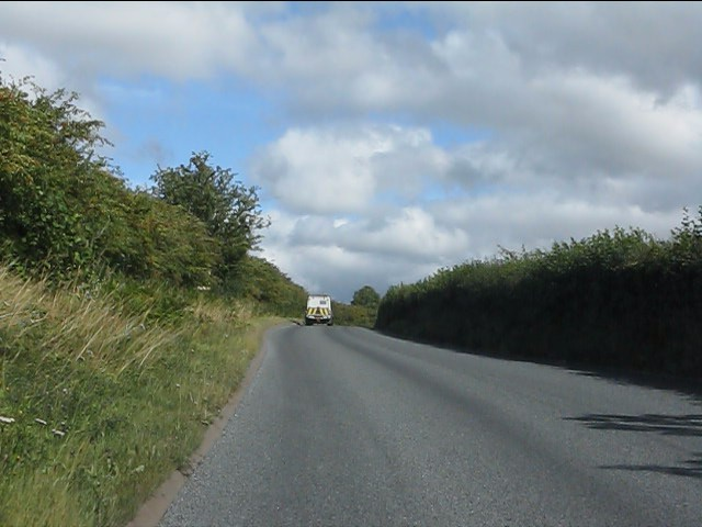 A4117 east of The Smithy
