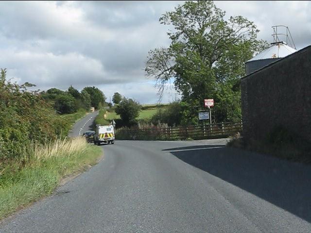 A4117 at Rochehead Farm