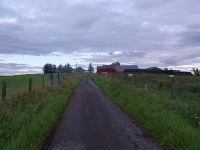 Shortrig Farm road east