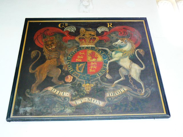 Coat of Arms, St Mary's Church, Childrey
