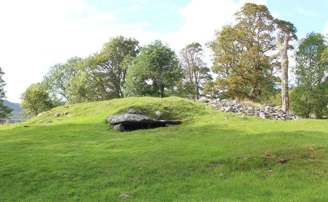 Burial mound, Dunchraigaig
