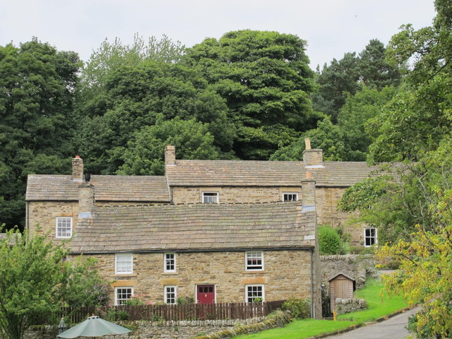 Cottages in Blanchland