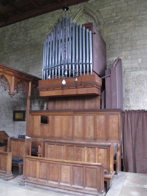 The Church of St. Mary The Virgin - organ