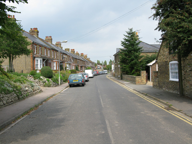 View along Dover Road, Sandwich