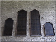 NY9650 : The Church of St. Mary The Virgin - wall boards by Mike Quinn