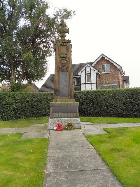 War Memorial and Memorial Garden, Cheadle Hulme