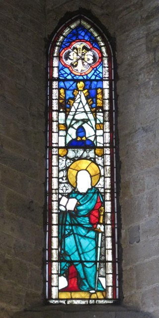 The Church of St. Mary The Virgin - stained glass window